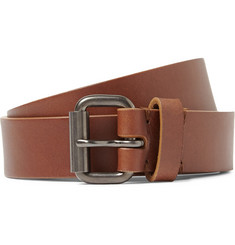 Álvaro 2.5cm Brown Leather Belt
