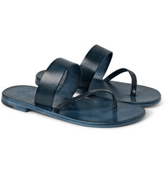 Álvaro Alberto Leather Sandals