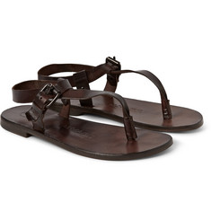 Álvaro Andrea Leather Sandals