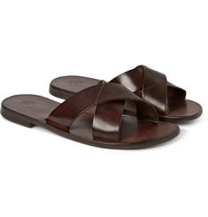Álvaro - Antonio Leather Slides