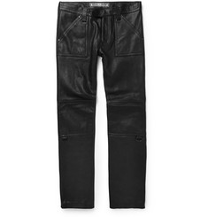 Blackmeans Leather Biker Trousers