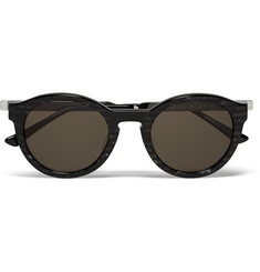 Thierry Lasry Zomby Round-Frame Acetate Sunglasses
