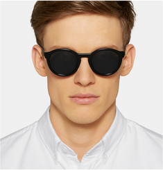 Thierry Lasry Zomby 700 Round-Frame Acetate Sunglasses