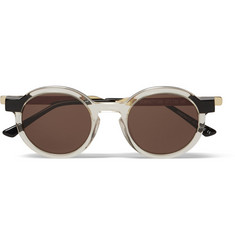 Thierry Lasry Sobriety 995 Gold-Tone and Acetate Sunglasses