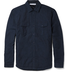 Orlebar Brown Andrew Padded Denim Overshirt
