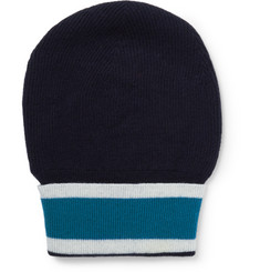 Orlebar Brown Striped Wool Beanie