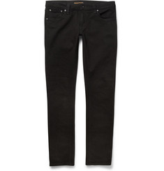 Nudie Jeans Skinny-Fit Long John Slim-Fit Organic Dry-Denim Jeans