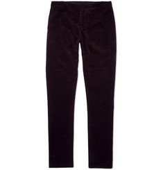 Burberry Prorsum Slim-Fit Corduroy Trousers
