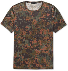 Burberry Prorsum Camouflage-Print Cotton-Jersey T-Shirt
