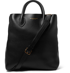 Burberry Shoes & Accessories Full-Grain Leather Tote