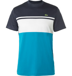 Lacoste Tennis Colour-Block Ultra Dry Piqué T-Shirt