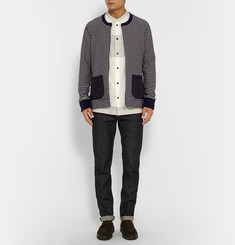 Junya Watanabe Striped Cotton Cardigan