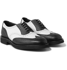 Junya Watanabe - + Tricker's Two-Tone Leather Brogues
