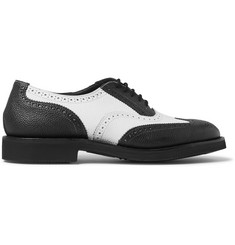 Junya Watanabe + Tricker's Two-Tone Leather Brogues