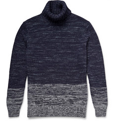 Hugo Boss Space-Dyed Knitted Rollneck Sweater