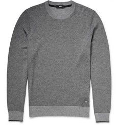 Hugo Boss Cotton and Virgin Wool-Blend Jacquard Sweater