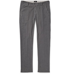 Hugo Boss Fine-Wale Cotton-Blend Corduroy Trousers