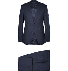 Hugo Boss Navy Slim-Fit Stretch-Wool Suit