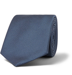 Hugo Boss Pin-Dot Silk-Jacquard Tie