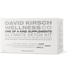 David Kirsch Wellness Co. 5-Day Ultimate Detox Kit