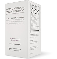 David Kirsch Wellness Co. AM Daily Detox - 30 sachets