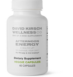David Kirsch Wellness Co. Afternoon Energy Dietary Supplement (60 capsules)