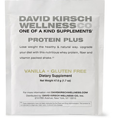David Kirsch Wellness Co. Vanilla Protein Plus Meal Replacement - 20 packets