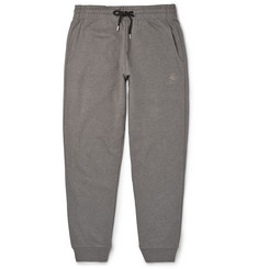 McQ Alexander McQueen Swallow-Embroidered Cotton-Jersey Sweatpants