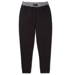 McQ Alexander McQueen Tapered Loopback Cotton-Jersey Sweatpants