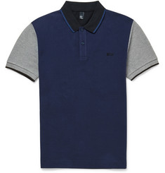 McQ Alexander McQueen Colour-Block Cotton-Piqué Polo Shirt