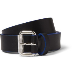 McQ Alexander McQueen 3cm Black Leather Belt