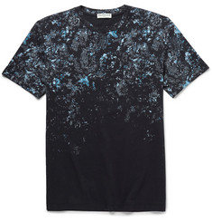 Balenciaga Printed Cotton-Jersey T-Shirt