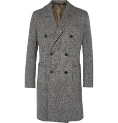 Thom Sweeney Maddox Herringbone Wool Coat