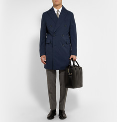 Thom Sweeney Maddox Double-Breasted Wool-Blend Coat