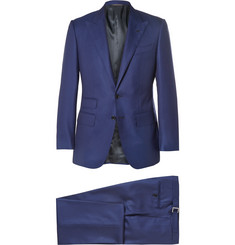 Thom Sweeney Blue Weighhouse Wool Suit
