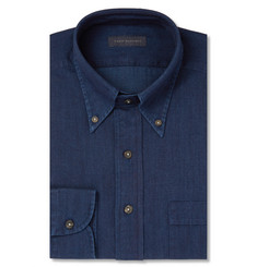 Thom Sweeney Indigo Chambray Shirt