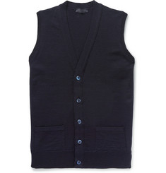 Thom Sweeney Virgin Wool Gilet