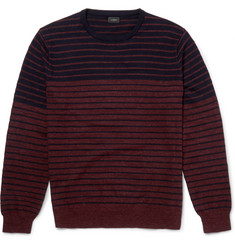 J.Crew - Striped Cotton Sweater