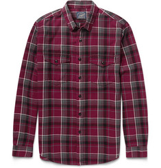 J.Crew Thurston Checked Cotton-Flannel Shirt