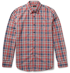J.Crew Checked Jaspé Cotton Shirt