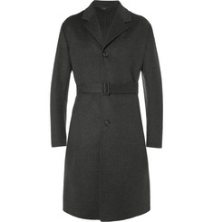Jil Sander Belted Wool and Cashmere-Blend Overcoat