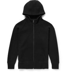 Jil Sander Zip-Up Wool-Fleece Hoodie