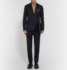Jil Sander Navy Colette Achilles Slim-Fit Wool Suit