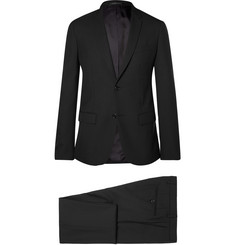 Jil Sander Black Colette Achilles Slim-Fit Wool Suit