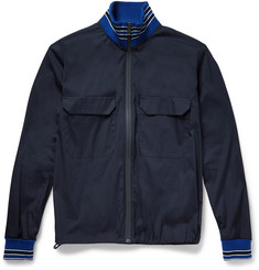 Jil Sander Slim-Fit Cotton-Blend Shell Jacket