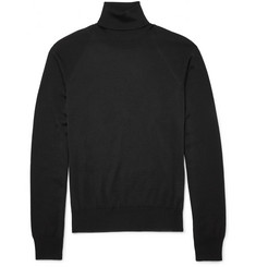 Jil Sander Rollneck Wool and Silk-Blend Sweater