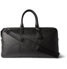 Hugo Boss Gasdon Grained-Leather Holdall