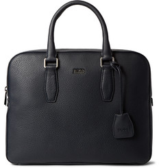 Hugo Boss Gardo Grained-Leather Briefcase