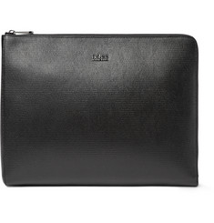 Hugo Boss Textured-Leather Document Holder