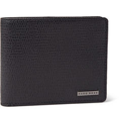 Hugo Boss London Textured-Leather Billfold Wallet